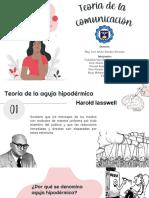 TEORÍA DE LA COMUNICACIÓN - SOCIOLOGÍA.