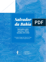 Salvador Da Bahia Interacoes Entre America e Africa REPOSITORIO