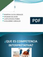 UCC PRESENTACION COMPETENCIA INTERPRETATIVA