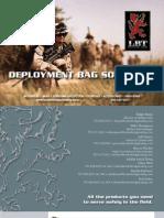 LBT Deployment Bag Mini Catalog 2011