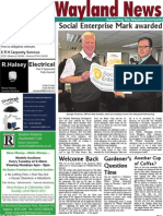 The Wayland News March 2011