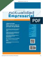 Actualidad Empresarial - Edición N° 378 1RA QUINCENA 07-2017