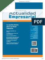 Actualidad Empresarial - Edición N° 385 2DA QUINCENA 08-2017