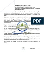 CONTRATO de ÉXITO - Financial Mentors - Éxito y Prosperidad LMP