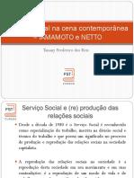 Slides Serviço Social na cena contemporânea RESUMO IAMAMOTO e NETTO