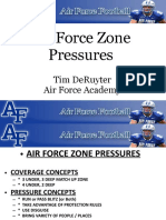 Air Force Academy Zone Pressures