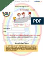 Evaluacion Diagnóstica Del Área de Educación Física II 2