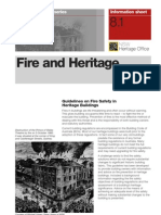 Fire and Heritage