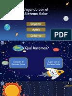 Jugando Con El Sistema Solar