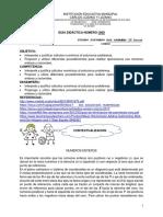 GUIA DIDACTICA N°1 4P MATEMATICAS