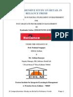 Reliance fresh-Customer Satisfaction