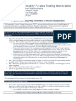 Anti Manipulation Factsheet