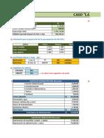 Ejercicio de presupuestos