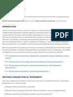 Miomas uterinos (leiomiomas)_ descripción general del tratamiento - UpToDate