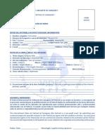 Formulario para la inscripción de obras_Entry Form for artworks FIVAC 2021