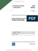 IEC 60812-2006