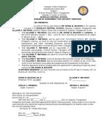 4 Memorandum of Agreement for Janitorial Services Alain