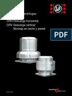 Ficha Tecnica de Extractor Tipo Hongo CRH
