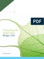 Budget_Publication_2011 deloiite