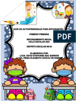 1. Guía de Autoaprendizaje, Primero Primaria..