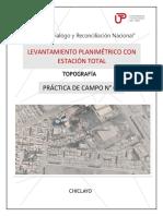 tercer informe topografico PJ RICARDO PALMA