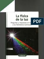 Fisica de la luz