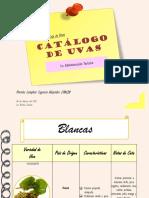 Catálogo de Uvas