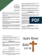 Sermon Notes March 06 2011