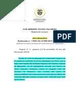 Sentencia animal TC14958-2019