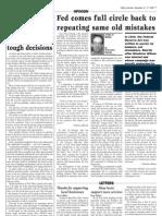 Valley Journal, November 2008
