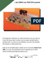 AMPLI TDA 7294 STEREO
