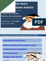 Padre António Vieira Síntese da Unidade