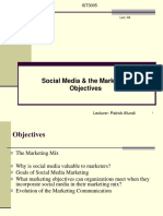 IST3005-Lec-04 -Social Media and the Marketing Objectives-Feb21