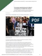 Greta Thunberg et les jeunes marchent pour le climat à Paris_ «Quand je serai grand, je voudrais être vivant»