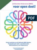 Kansen Voor Open Doel MBO 2011