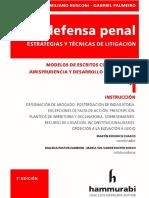 La Defensa Penal 1. Instruccion. 2019. Rusconi. Palmeiro