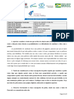 POLO NOVA TEBAS - AGRIMAR JOÃO CODO - ATIVIDADE  II