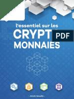 L'essentiel sur les crypto monnaies - Dimitri Mouëlli