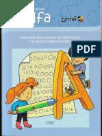 Cuadernillo Alfa programa letras