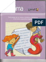 Cuadernillo Gama programa letras