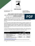 NYPIRG- 2010 Lobbying