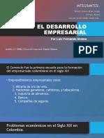 El Desarrollo Empresarial