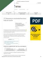TV Samsung no enciende_funciona _ Falla de fuente2