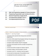 Programming Languages for Process Automation