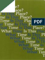 What Time is This Place?_Le Futur Préservé_Taduction par Jeanne Courbois