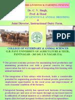 Integrated Fish-Livestock Farming System