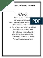 Popov Ecaterina (Poezie)