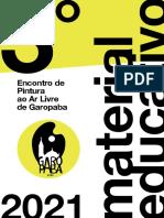 Material Educativo - Encontro de Pintura ao ar Livre em Garopaba 2021