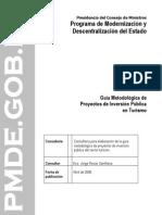 Guía de proyectos de inversión