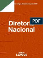 Descrição dos Cargos League Nacionais e Regionais